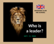 Speaking Club: Who is a Leader?