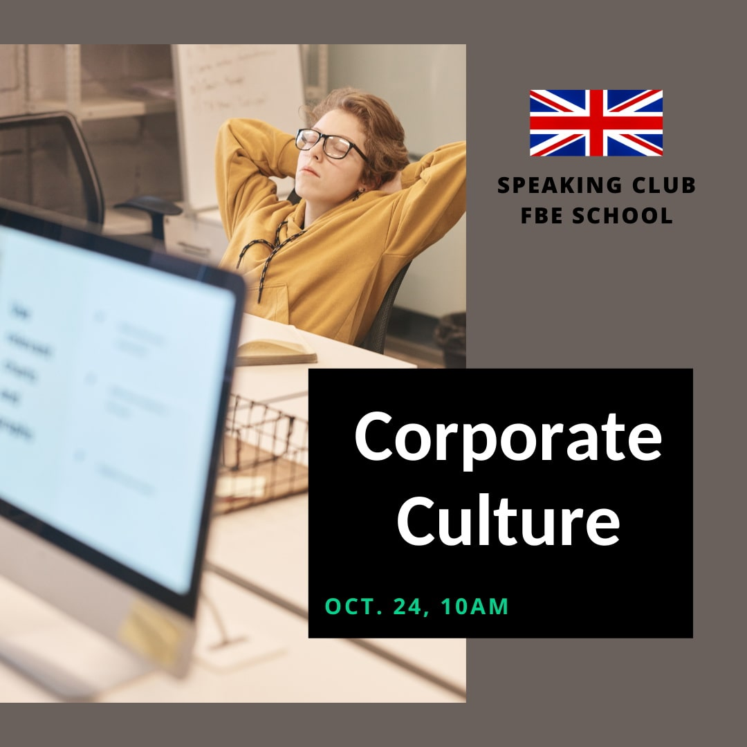 Speaking Club: Corporate Culture
